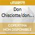 DON CHISCIOTTE/DON GIOVANNI