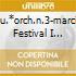 SU.*ORCH.N.3-MARCIA FESTIVAL I ROJDR