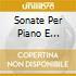 SONATE PER PIANO E VIOLONCELLO