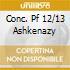 CONC. PF 12/13 ASHKENAZY