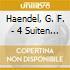 Haendel, G. F. - 4 Suiten Fuer Cembalo