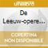 DE LEEUW-OPERE X PF VOL.