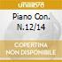 PIANO CON. N.12/14