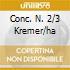 CONC. N. 2/3 KREMER/HA