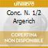 CONC. N. 1/2 ARGERICH