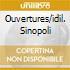 OUVERTURES/IDIL. SINOPOLI