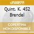QUINT. K. 452 BRENDEL
