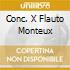 CONC. X FLAUTO MONTEUX