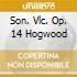 SON. VLC. OP. 14 HOGWOOD