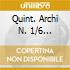 QUINT. ARCHI N. 1/6 GRUMIAUX
