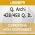 Q. ARCHI 428/458 Q. IT.