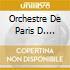 ORCHESTRE DE PARIS D. BARENBOIM