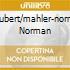 SCHUBERT/MAHLER-NORMAN NORMAN