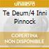 TE DEUM/4 INNI PINNOCK