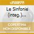 LE SINFONIE (INTEG.) BOHM