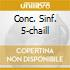CONC. SINF. 5-CHAILL