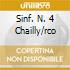 SINF. N. 4 CHAILLY/RCO