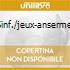 SINF./JEUX-ANSERMET