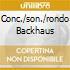 CONC./SON./RONDO BACKHAUS