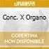 CONC. X ORGANO