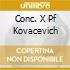 CONC. X PF KOVACEVICH