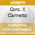 CONC. X CLARINETTO