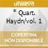 * QUART. HAYDN/VOL. 1