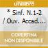 * SINF. N.1-2 / OUV. ACCAD. / VAR.