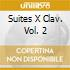 SUITES X CLAV. VOL. 2