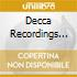 DECCA RECORDINGS 1949-1955