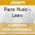PIANO MUSIC - LEEW