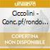 Ciccolini - Conc.pf/rondo Veneziano