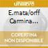 E.MATA/ORFF CARMINA BURANA