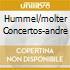 HUMMEL/MOLTER CONCERTOS-ANDRE