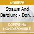 Strauss And Berglund - Don Giovanni & Others