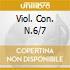 VIOL. CON. N.6/7