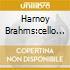 HARNOY BRAHMS:CELLO NOS.1 &2