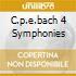 C.P.E.BACH 4 SYMPHONIES