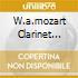 W.A.MOZART CLARINET CONCERTO..