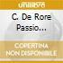 C. DE RORE PASSIO DOMINI NOSTR