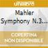 MAHLER SYMPHONY N.3 IN D MINOR