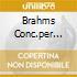 BRAHMS CONC.PER VIOLINO