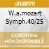W.A.MOZART SYMPH.40/25