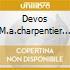 DEVOS M.A.CHARPENTIER 5 LECONS