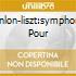CONLON-LISZT:SYMPHONIE POUR