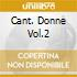 CANT. DONNE VOL.2