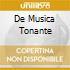 DE MUSICA TONANTE