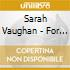 Sarah Vaughan - For Lovers