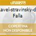 RAVEL-STRAVINSKY-DE FALLA