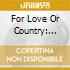 For Love Or Country: Arturo Sandoval Story / O.S.T - For Love Or Country: Arturo Sandoval Story / O.S.T